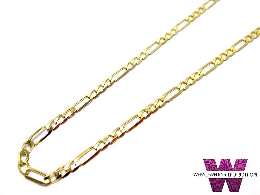 שרשרת זהב לגברים ונשים | פיגרו 14K